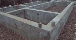 Как залить бетонный фундамент для дома самому?