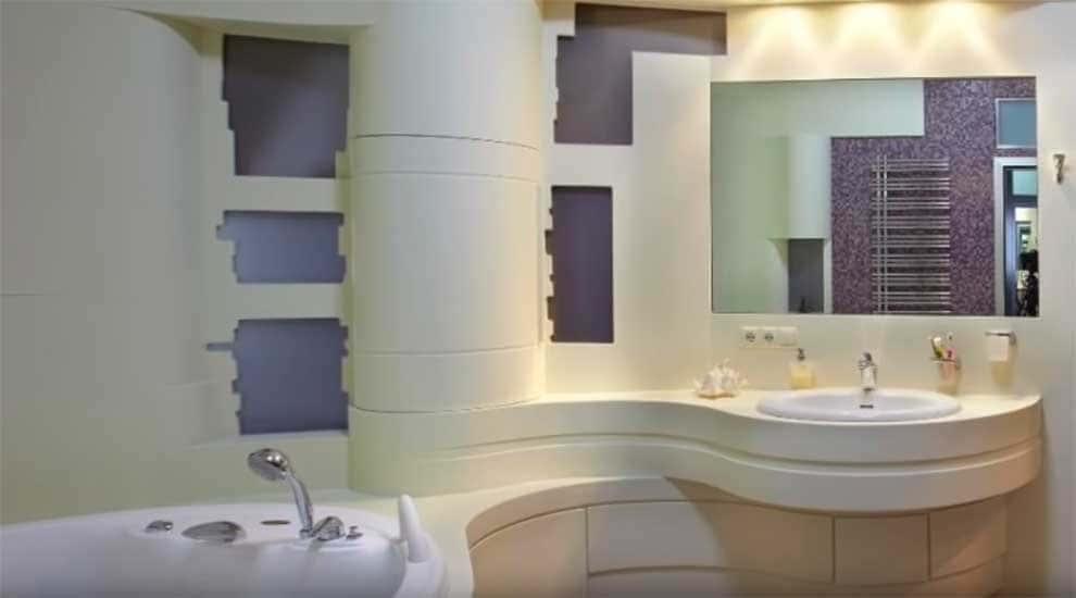 9 вариантов дизайна ванной комнаты: фото и рекомендации