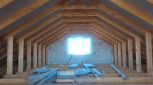 Как построить двускатную крышу частного дома. От А до Я
