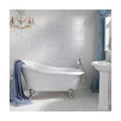 Дизайнерские узоры в ванной комнате